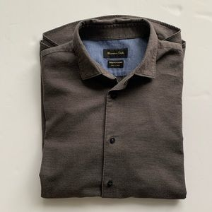 Men's Massimo Dutti buttoned down shirt